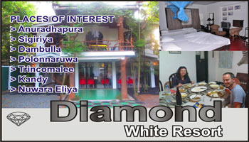 Diamond White Resort Sri Lanka