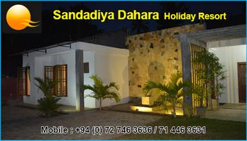Sandadiya Dahara Holiday Resort Sri Lanka
