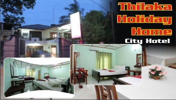 Thilaka Holiday Home City Hotel Sri Lanka